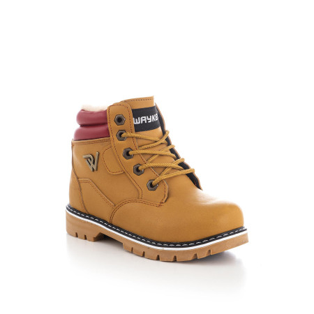 Kid's Lace-up Camel Boots