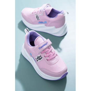 Kid's Pink - Lilac Sport Shoes