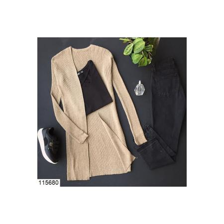 Women's Basic Mink Cardigan