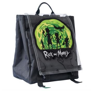 Unisex Rick And Morty Print Backpack
