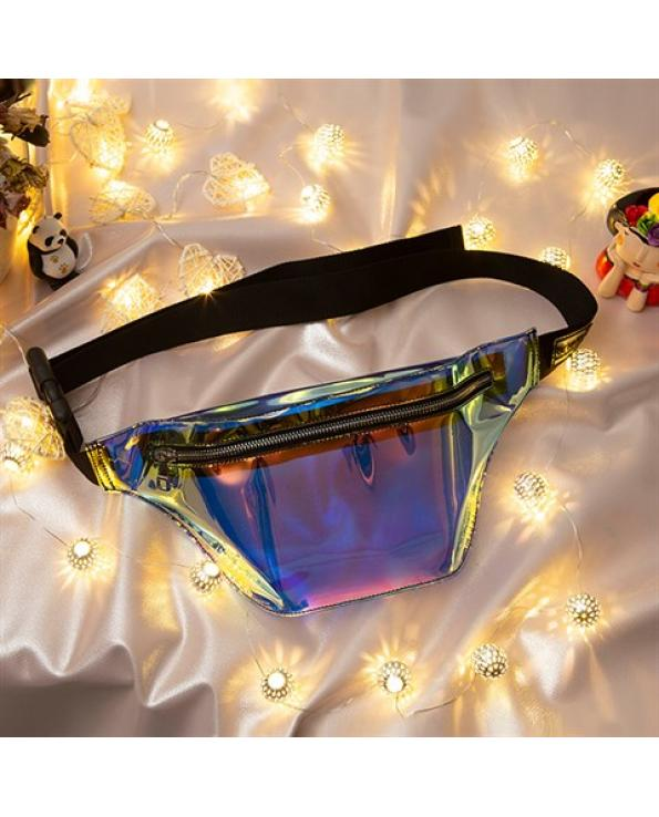 Silver Hologram Waist Bag