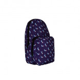 Unisex Patterned Navy Blue Crossbody Bag