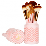 BH Cosmetics Pink Perfection Brush Set - 10 Piece
