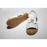 Girls sandal leather very lite RBL base white color