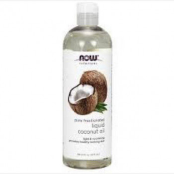 Now Solutions Liquid Coconut Oil - 118ml