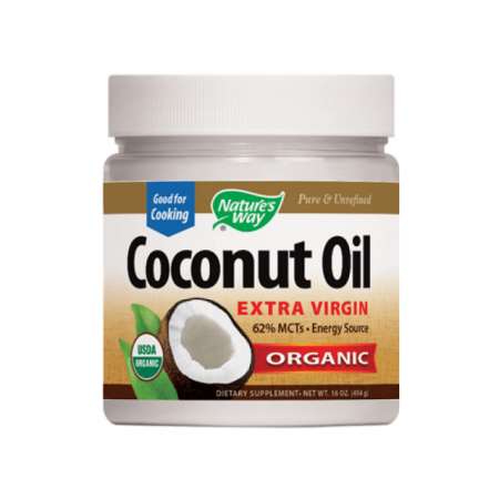 Nature's Way Organic Coconut Oil - 448g