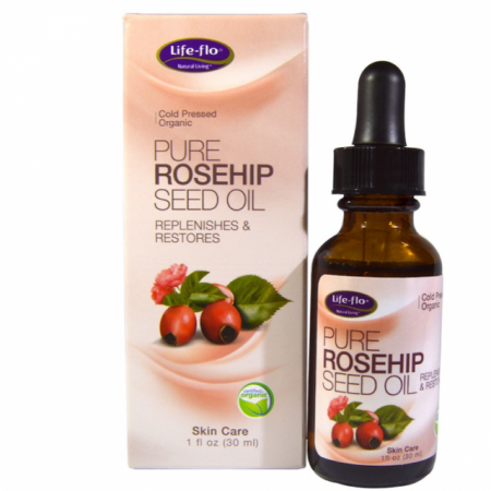 Life Flo Pure Rosehip Seed Oil - 30ml