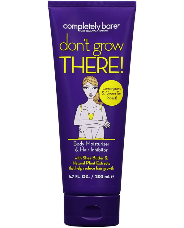 Completely Bare don't grow THERE Body Moisturizer& Hair Inhibitor 200ml   with 50ml piece