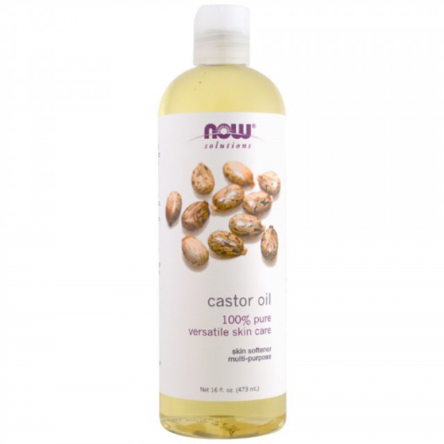 Now Solutions Castor Oil 470 ml